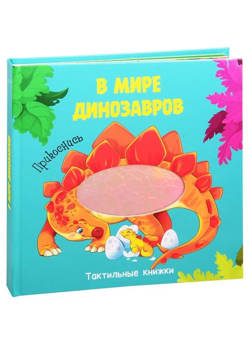 Фото - Купырина А., Брагинец Н. В мире динозавров Тактильная книжка брагинец н книжка гармошка милая панда