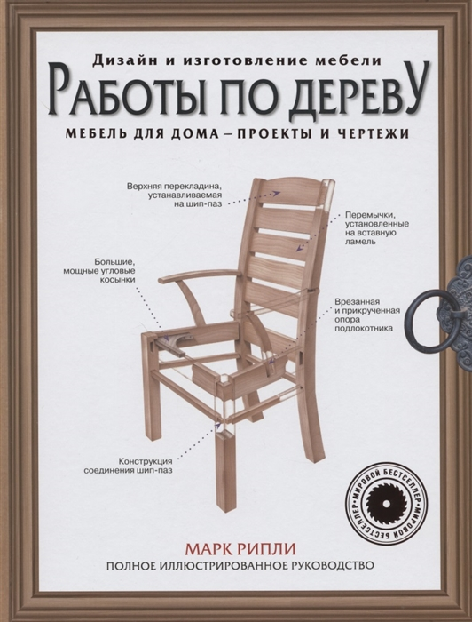Рипли М. Работы по дереву Мебель для дома - проекты и чертежи