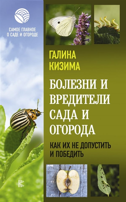 Фото - Кизима Г. Болезни и вредители сада и огорода Как их не допустить и победить болезни и вредители цветов защити свой