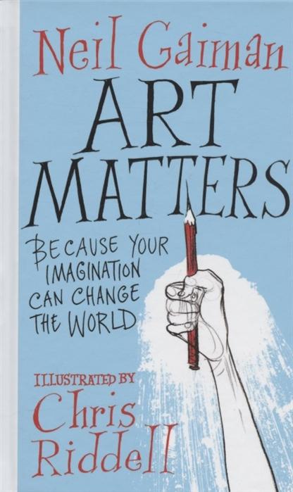 gaiman n m is for magic Gaiman N. Art Matters