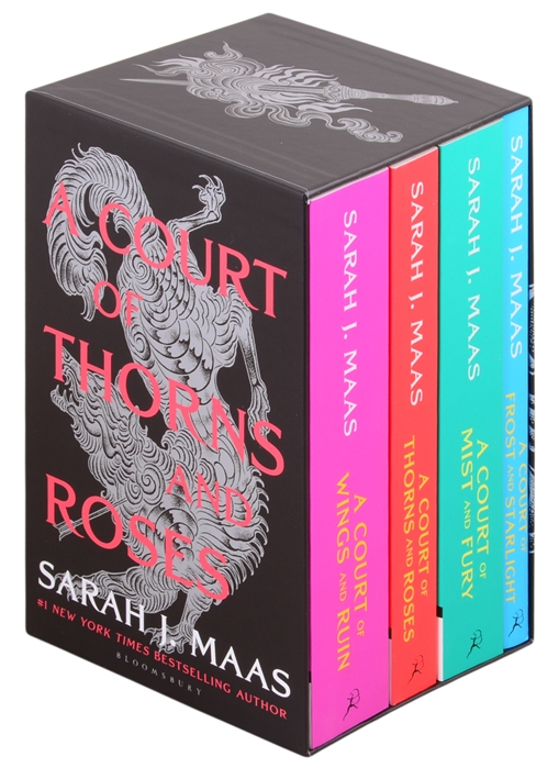 Maas S. A Court of Thorns and Roses Box Set комплект из 4 книг tshepo moloi place of thorns