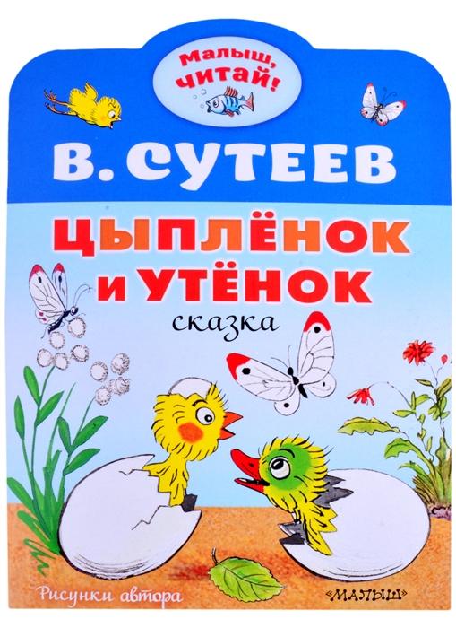 Купить Цыплёнок и Утёнок сказка, АСТ, Сказки