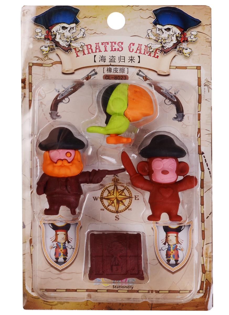 Набор Ластики пазлы Пираты (блистер)