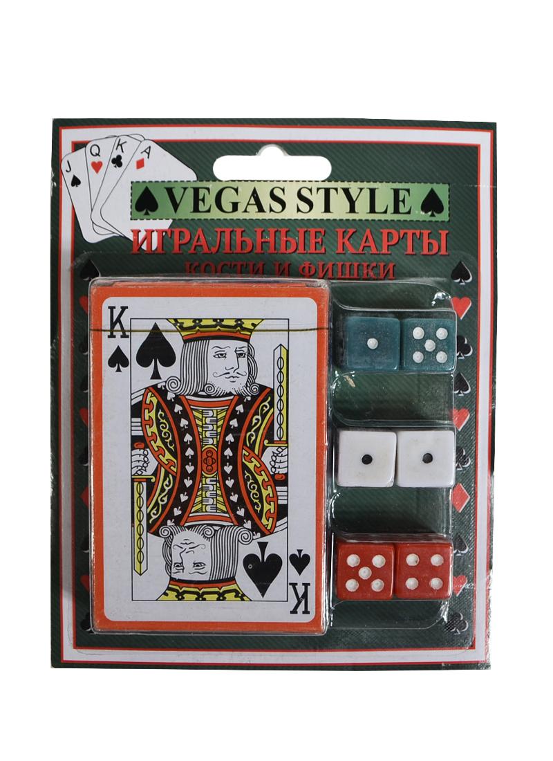 Набор для настольных игр колода карт и 6 игральных костей (35711) (Феникс-Презент)