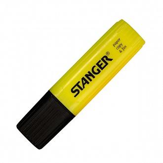 """Текстовыделитель """"Paper&Fax"""" желтый 1-4 мм, Stanger"""