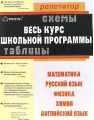 Таблицы и схемы Русский язык