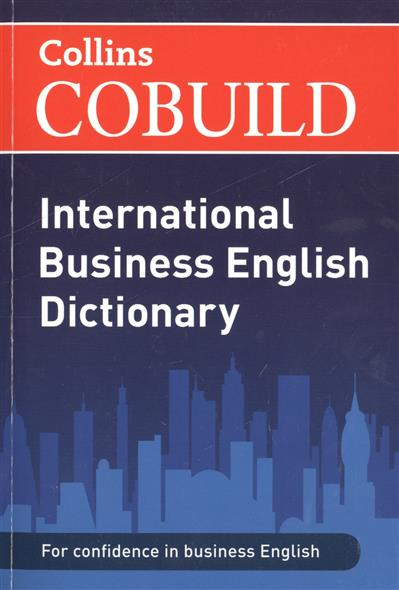 COBUILD International Business English Dictionary cambridge business english dictionary new
