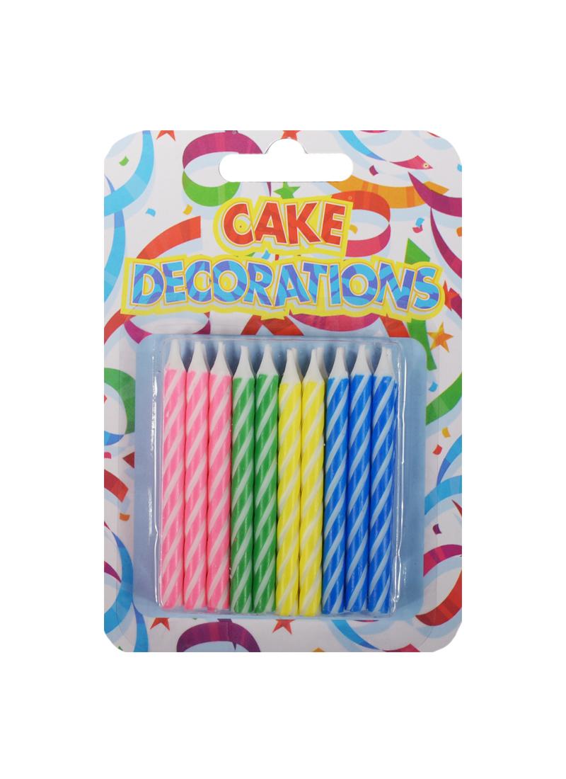 Набор свечей для торта (20шт) (6см) (HFGL5861)