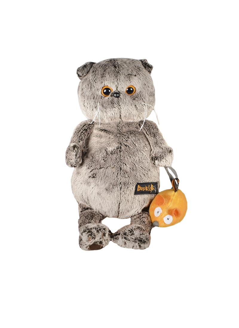 Мягкая игрушка Басик и мышка (25 см) (Ks25-004)