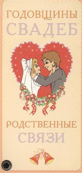 Карточка Годовщины свадеб Родственные связи