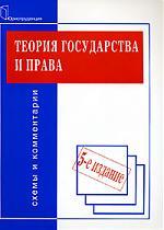 Теория государства и права Схемы и комментарии
