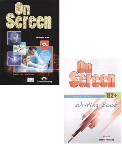 On Screen B2+. Student's Book + Writing Book (комплект из 2-х книг)