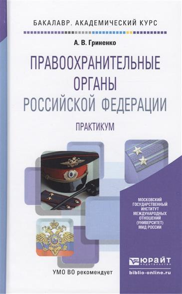 Правоохранительные органы Российской Федерации. Практикум. Учебное пособие для академического бакалавриата
