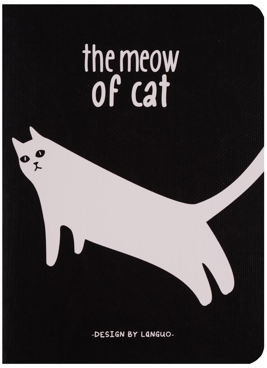 """Записная книжка """"The cats meow"""""""