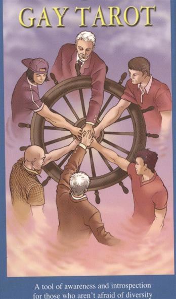 Bursten L., Platano A. Gay Tarot (78 карт + инструкция) tuan l witchy tarot 78 карт