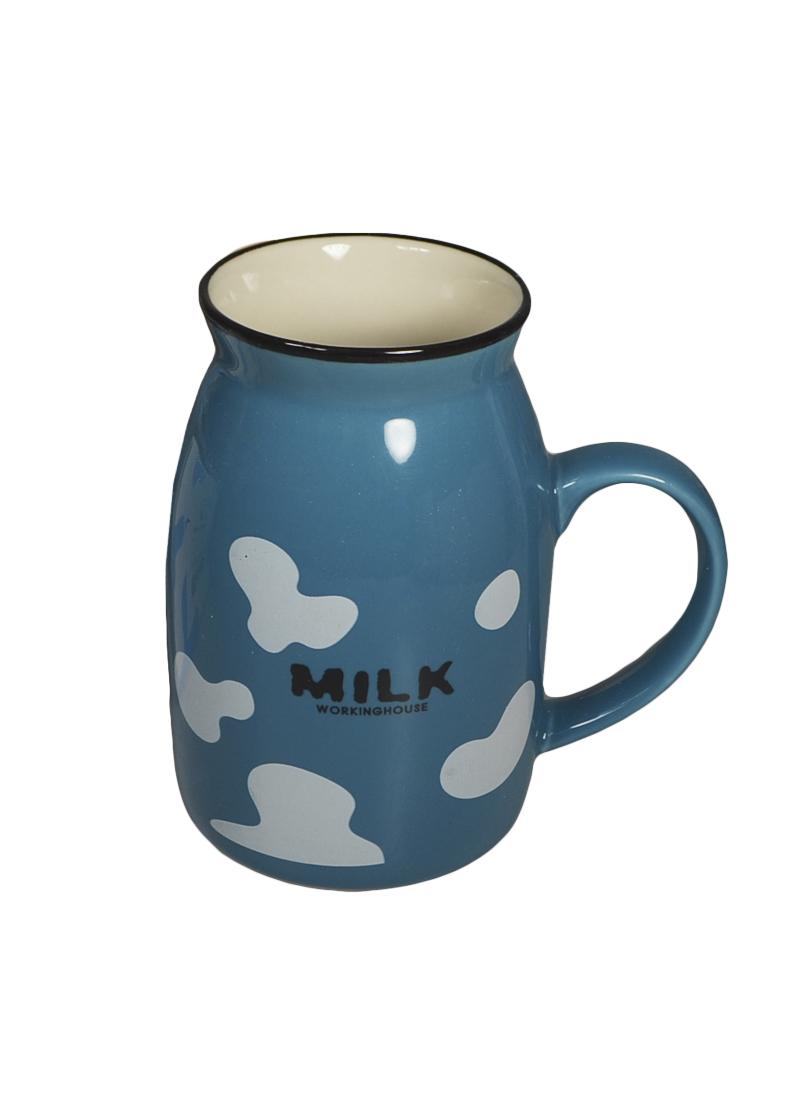 Кружка Milk бирюзовая (003069) (Карамба)