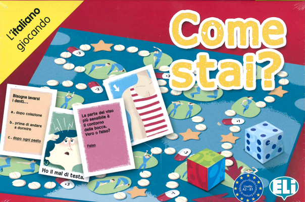 Games: [A2-B1]: Come stai? games voyage en france a2 b1