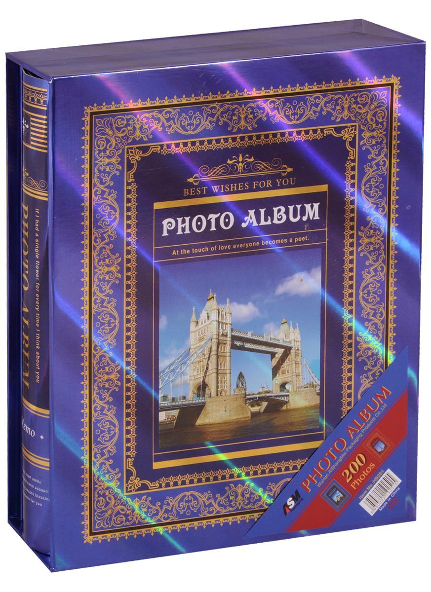 """Фотоальбом """"Лондон/Париж"""" на 200 фото"""