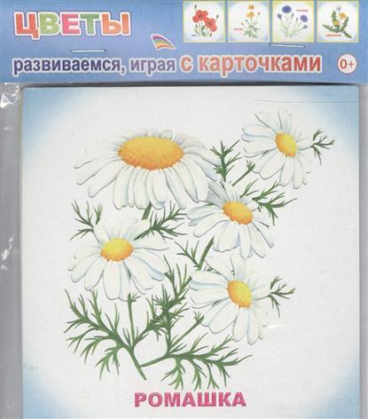 Обучающие карточки. Цветы