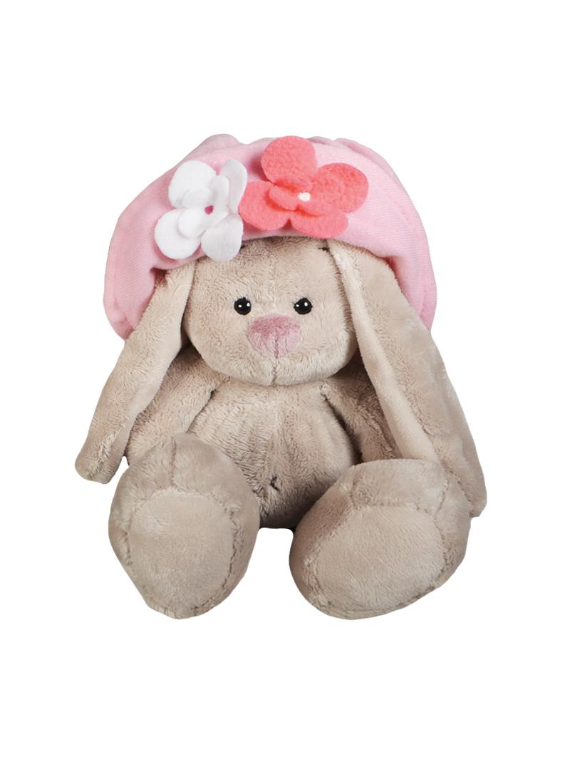 Мягкая игрушка Зайка Ми в панамке с цветами (15см) (SidXm77) (Буди Баса)