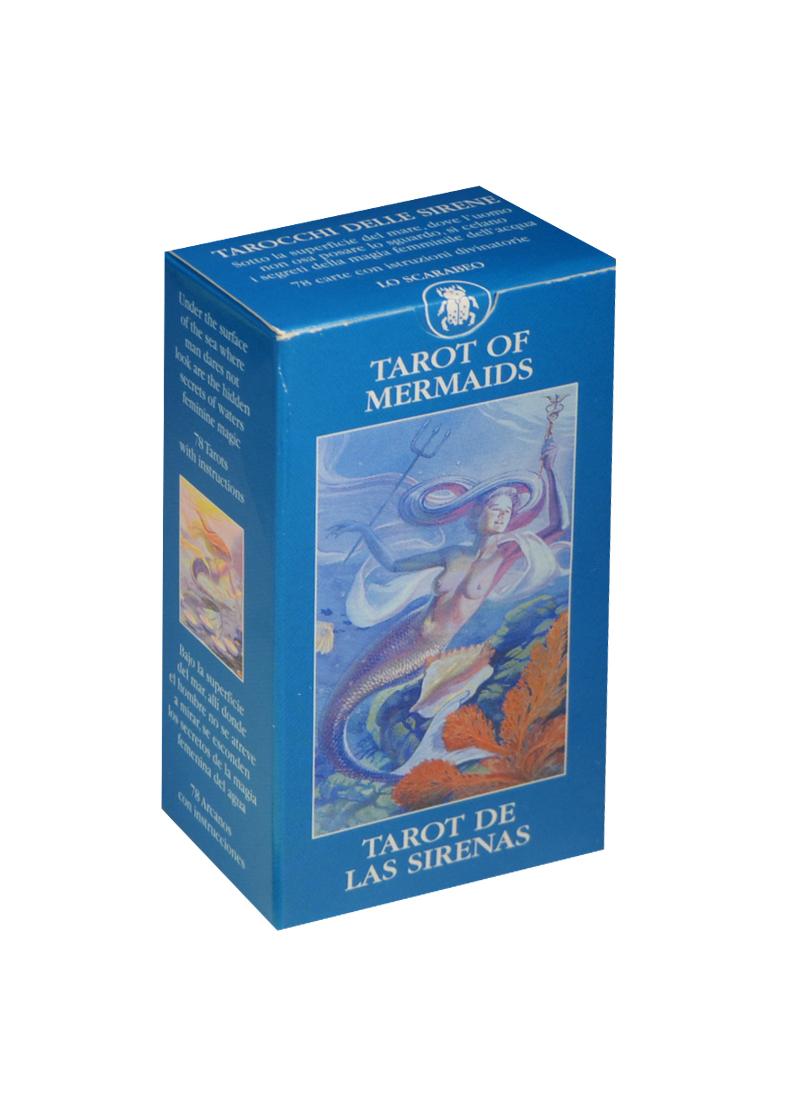 Мини Таро Русалки (Mini Tarot Mermaids) (на 5 языках: английский, итальянский, испанский, французский, немецкий) (MD12) (Аввалон)