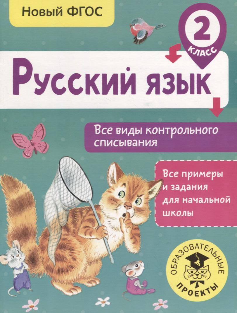 Русский язык. 2 класс. Все виды контрольного списывания