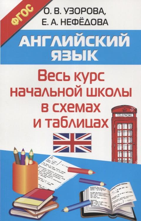 Узорова О., Нефедова Е. Английский язык. Весь курс начальной школы в схемах и таблицах цены онлайн