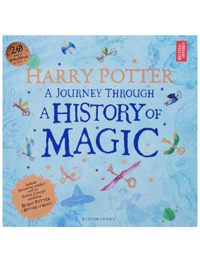 цены Rowling J. Harry Potter. A Journey Through. A History of Magic
