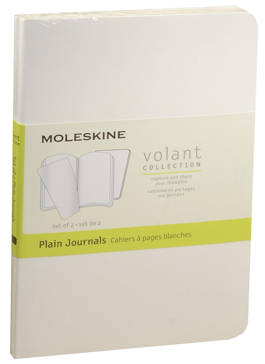 """Записная книжка А6 40л нелин. """"Volant Pocket"""" (2шт.) белая, мягкая обложка, Moleskine"""