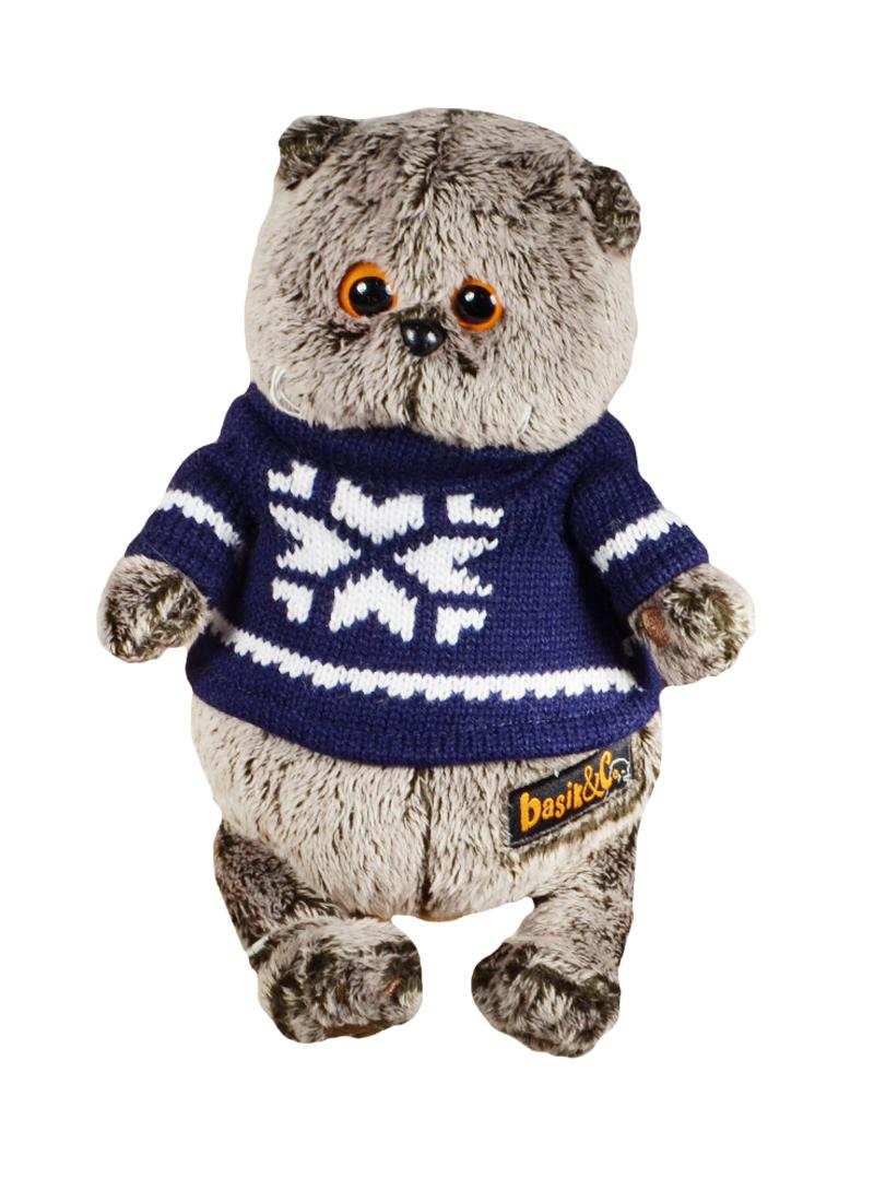 Мягкая игрушка Басик в свитере (19 см) (Ks19-044)