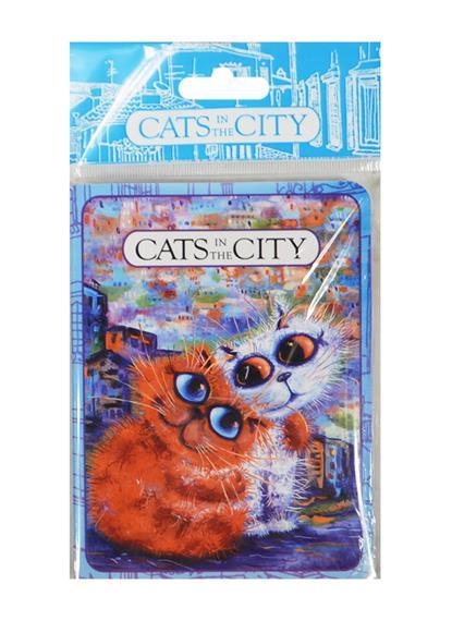 Записная книжка Cats in the City (Обнимушки) (ЗК2015-12)