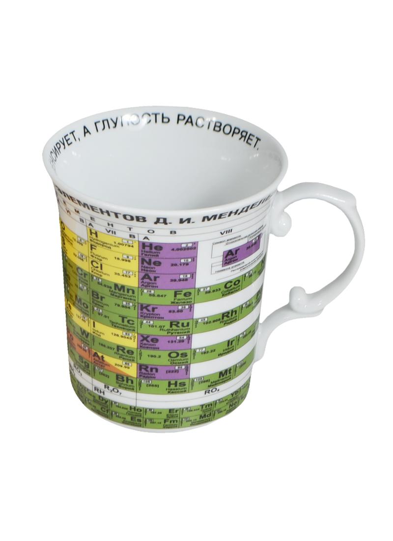 Кружка Таблица Менделеева в подарочной упаковке (500мл) (85-1278) (Авангард)