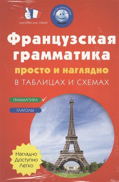 Французская грамматика просто и наглядно в таблицах и схемах. Грамматика. Глаголы (комплект из 2 книг)