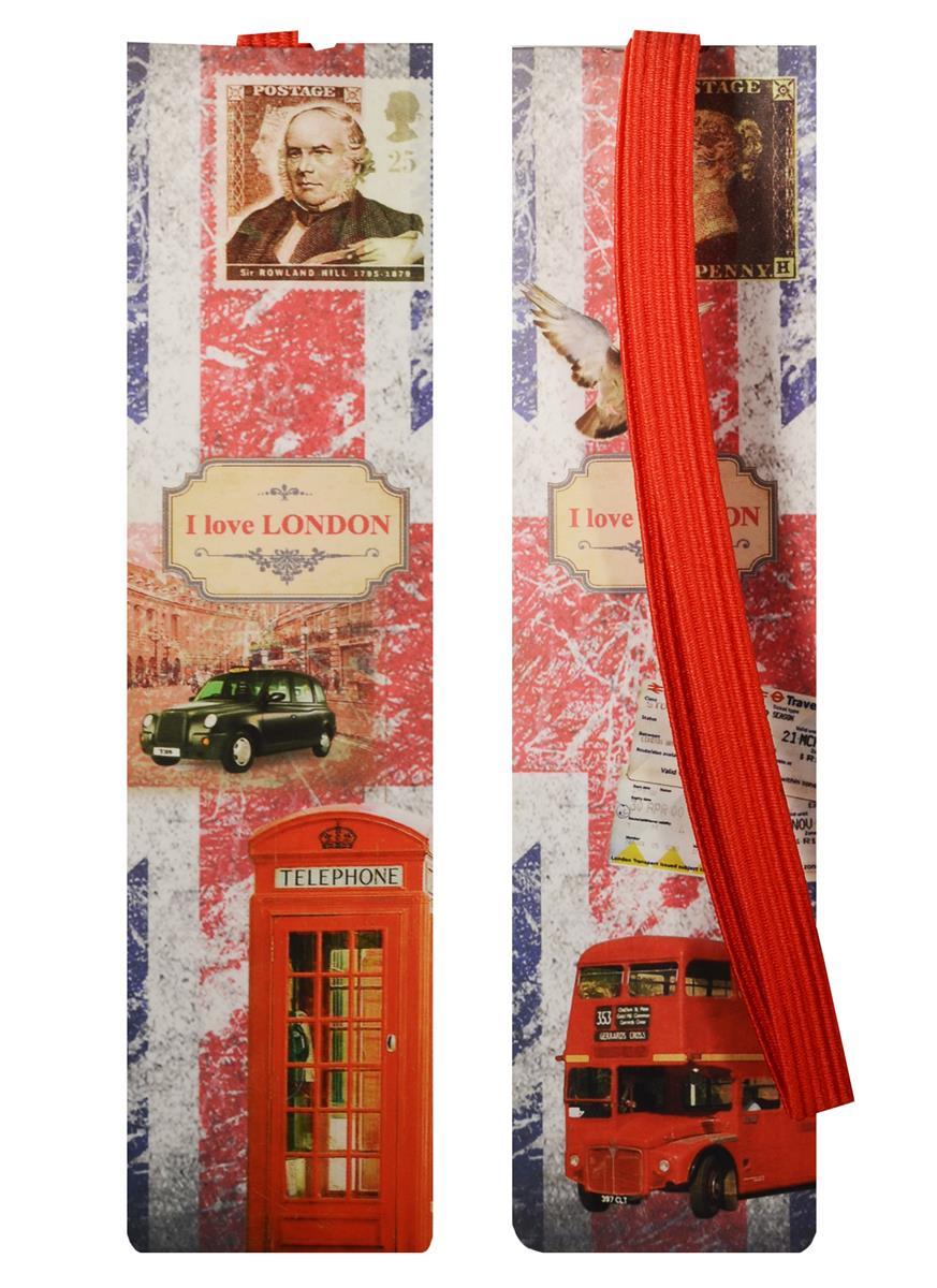 Закладка с резинкой Лондон