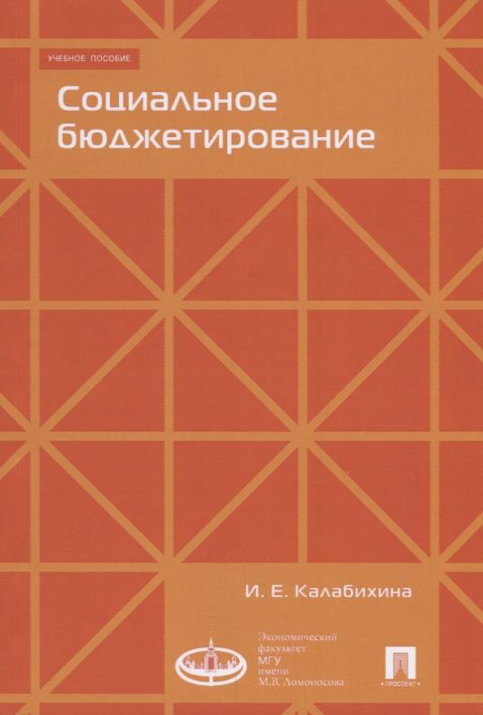 Калабихина И. Социальное бюджетирование. Учебное пособие социальное проектирование учебное пособие
