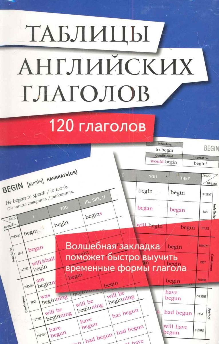 Таблицы английских глаголов 120 глаголов книги проспект english verb tenses for lazybones времена английских глаголов для ленивых