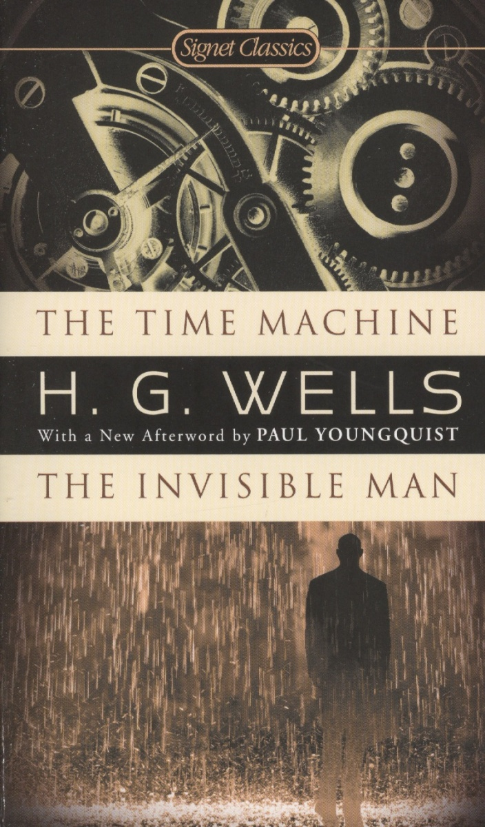 Wells H. The Time Machine. The Invisible Man mrpre invisible man the cd