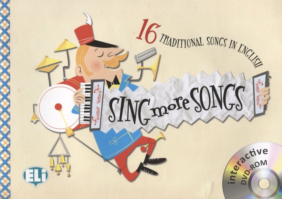 Sing More Songs. 16 Traditional Songs in English (+ DVD) wee sing bible songs