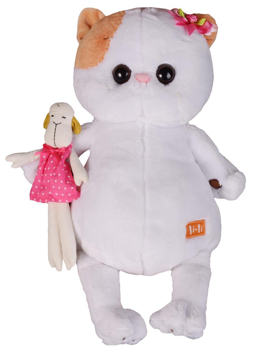 Мягкая игрушка Ли Ли с овечкой (27 см)