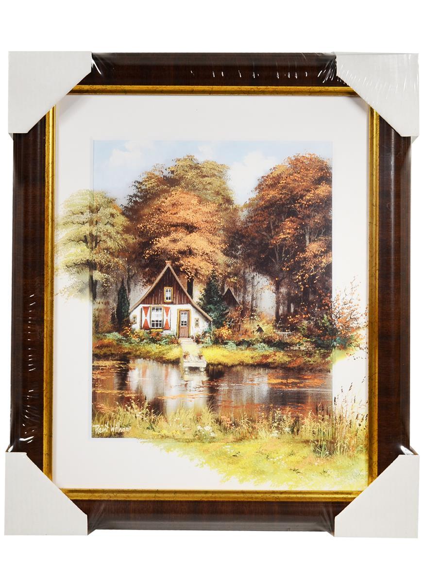 Картина Дом в лесу (24х30)