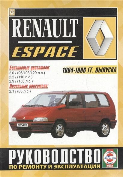 Гусь С. (сост.) Renault Espace. 2000 GTS, 2000 TSE, Turbo D, Turbo DX, RN, RT, RXE, Turbodiesel. Руководство по ремонту и эксплуатации. Бензиновые двигатели. Дизельные двигатели. 1984-1996 гг. выпуска 1 18 otto renault espace ph 1 2000 1 car model reynolds