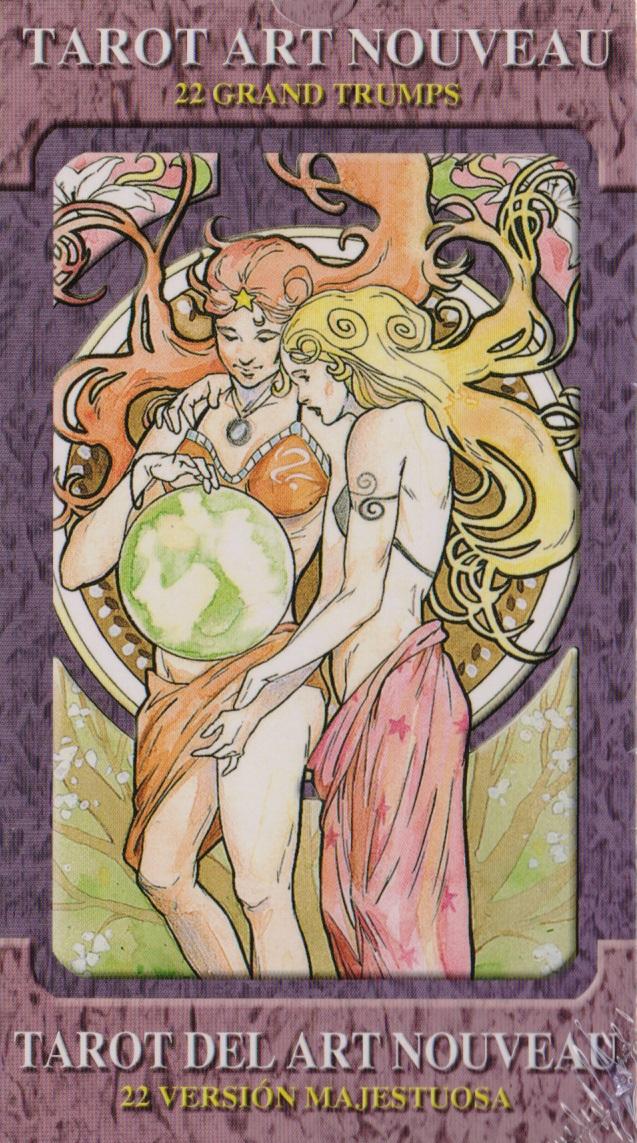 Tarot art nouveau. Grand trumps / Таро Галерея. Старшие аркады таро галерея