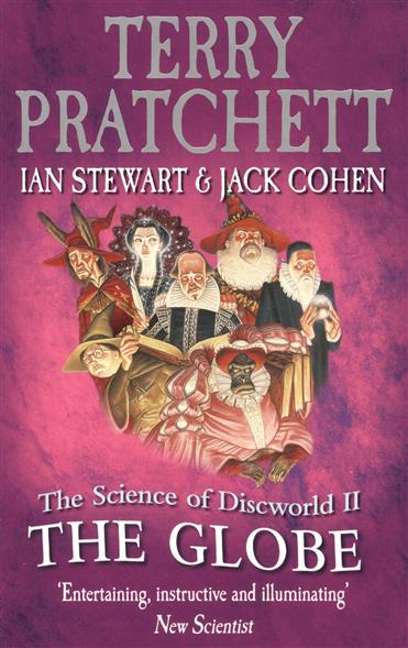 Pratchett T., Stewart I., Cohen J. The Science of Discworld II the Globe ISBN: 9780091951719 graphic print raglan sleeve hoodie
