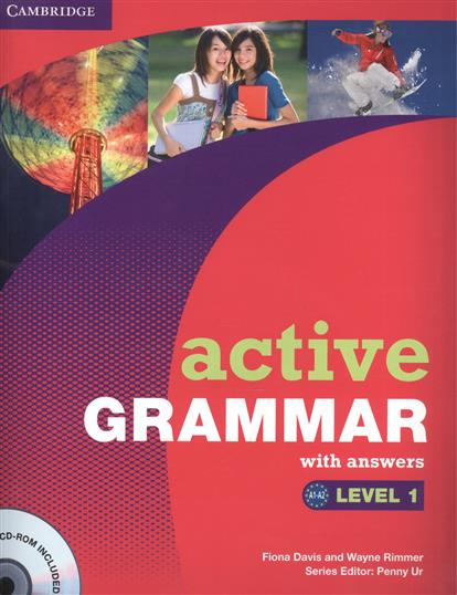 Davis F., Rimmer W. Active Grammar. Level 1. With answers (+CD) davis f edit the jungle book man trap level 1 cd