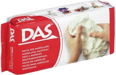 Паста для моделирования DAS, белая, 500г