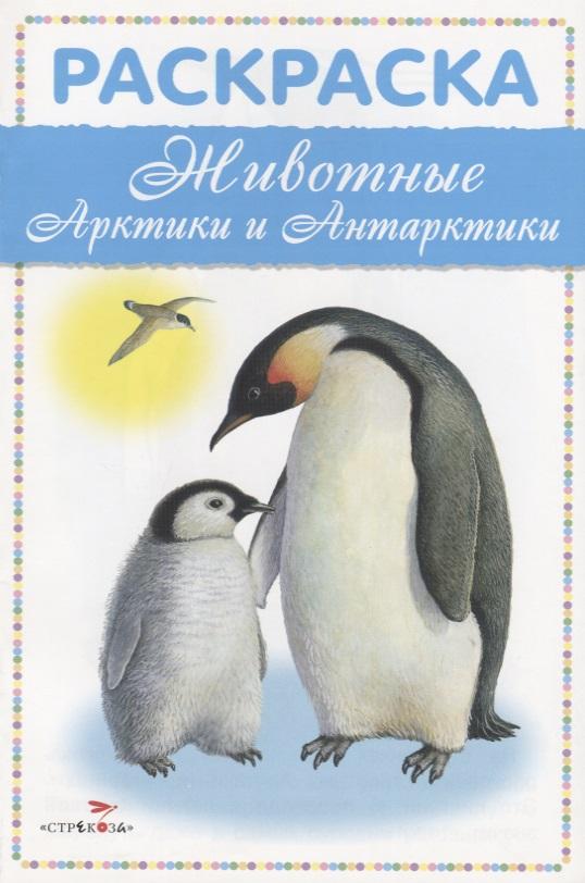 Бастрыкин В. (худ.) Животные Арктики и Антарктики. Раскраска