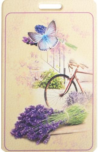 """Чехол для карточек """"Прованс с велосипедом"""""""
