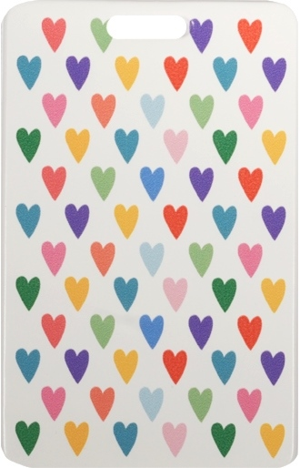 """Чехол для карточек """"Сердечки разноцветные"""""""