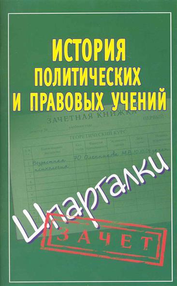История правовых и политических учений Зачет