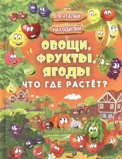 Доманская Л., Максимова И. Овощи, фрукты, ягоды. Что где растет?